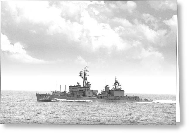 Dd 719 Uss Epperson Greeting Card