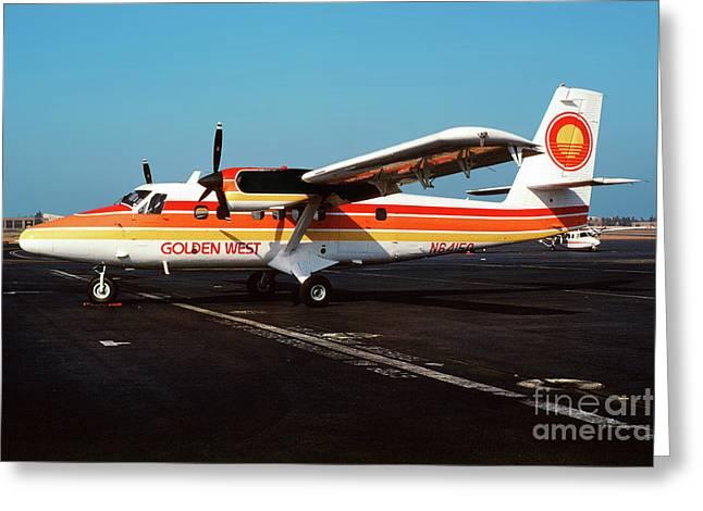 De Havilland Canada Dhc-6 Twin Otter, N64150 Greeting Card