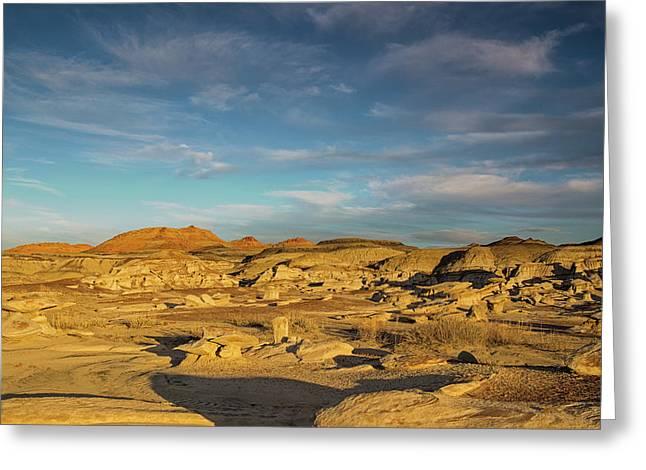 De Na Zin Wilderness Sunset Greeting Card