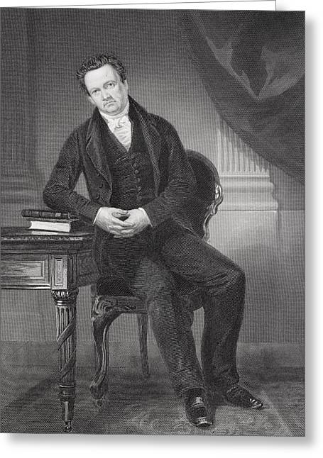 De Witt Clinton 1769-1828. American Greeting Card by Vintage Design Pics