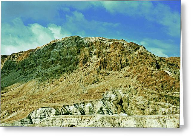 Dead Sea Scroll Caves 2 Greeting Card by Lydia Holly