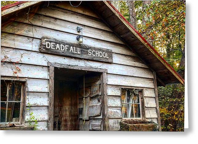 Deadfall School Greeting Card
