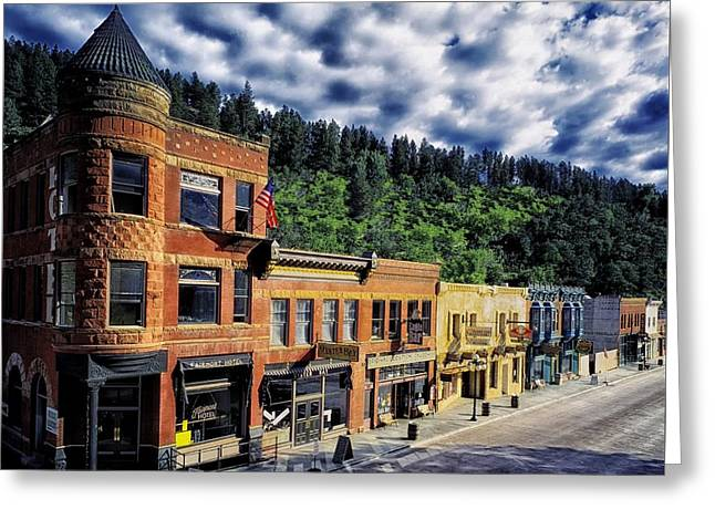 Deadwood South Dakota Greeting Card