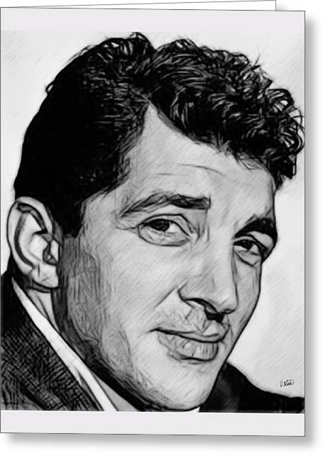 Dean Martin 03 Greeting Card