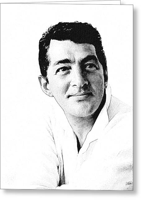 Dean Martin 04 Greeting Card
