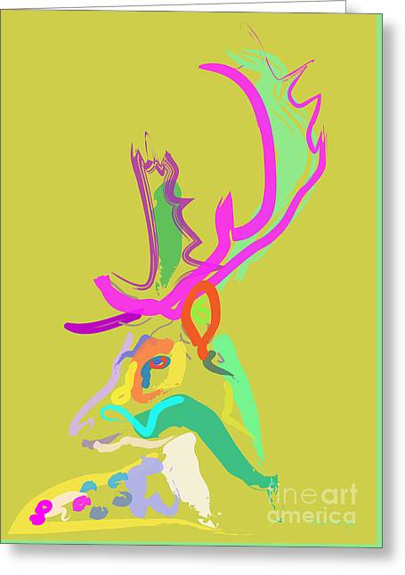 Dear Deer Greeting Card