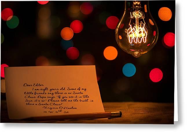 Dear Editor Greeting Card by Chris Bordeleau