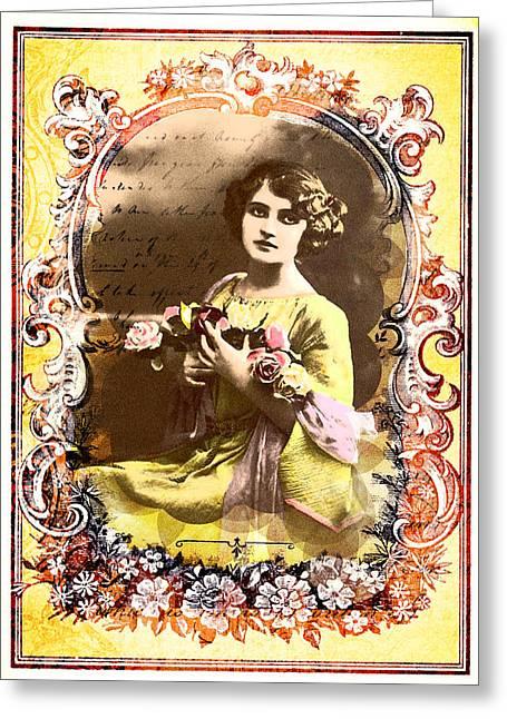 Dear To Me Greeting Card by Ramneek Narang