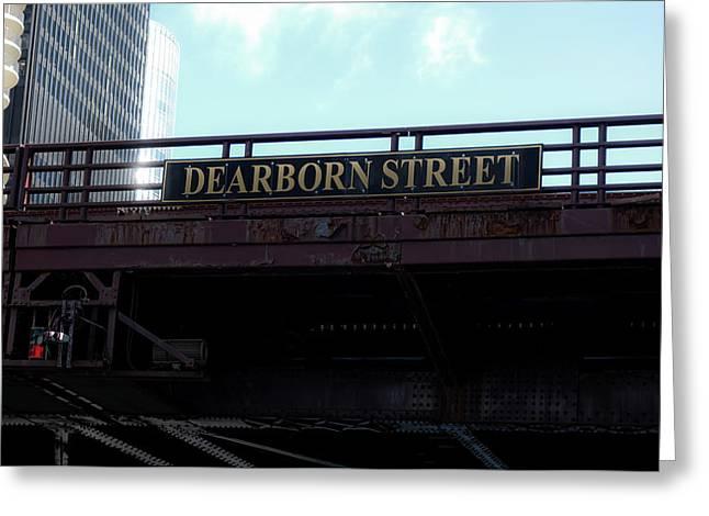 Dearborn Street Bridge - Chicago Greeting Card