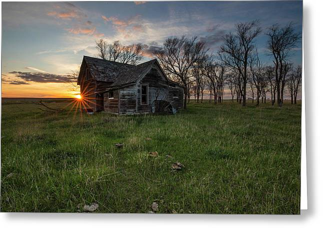 Dearly Departed Greeting Card by Aaron J Groen
