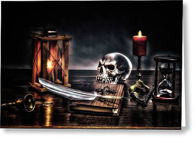 Death Is Certain - Life Is Not Greeting Card