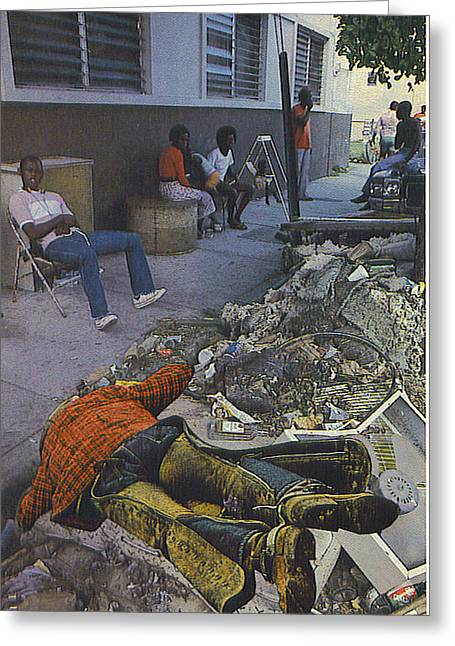 Death Of A Salesman Greeting Card by Kevin Porter