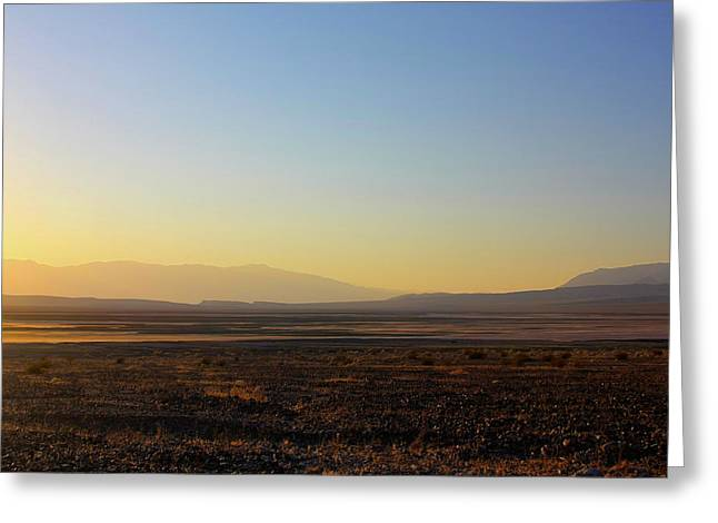 Death Valley -  A Beautiful But Dangerous Place Greeting Card