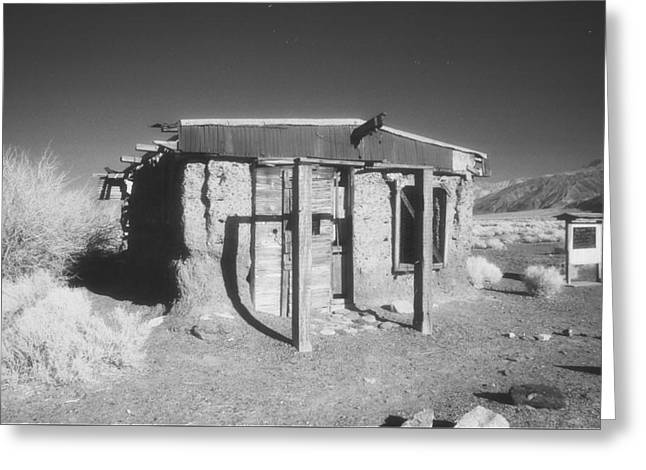 Death Valley Abode Greeting Card by Bruce Wayne