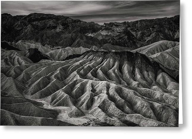 Death Valley Formation Greeting Card