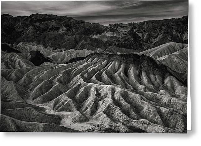 Death Valley Formation Greeting Card by Joseph Smith