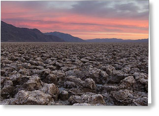 Greeting Card featuring the photograph Death Valley by Patrick Downey