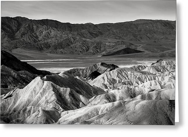 Death Valley Vista Greeting Card by Joseph Smith