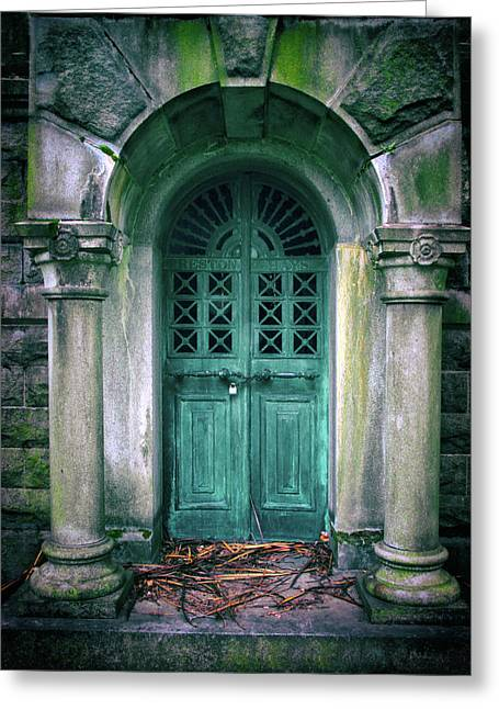 Death's Door Greeting Card by Jessica Jenney
