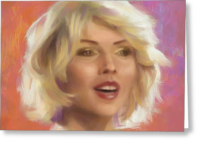 Debbie Harry Greeting Card