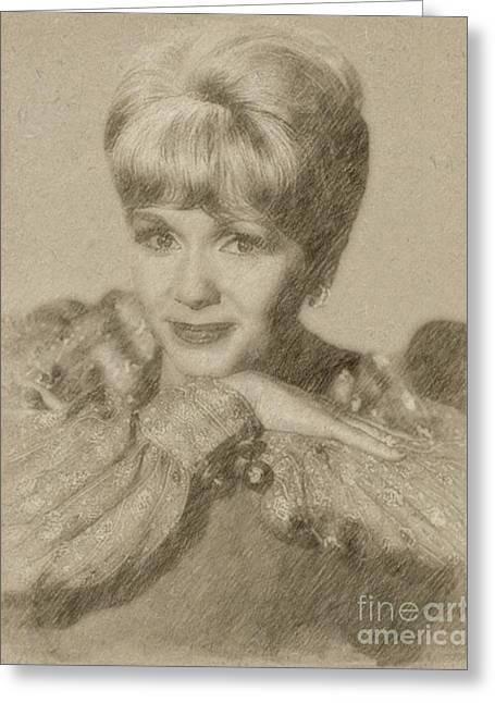 Debbie Reynolds, Actress Greeting Card