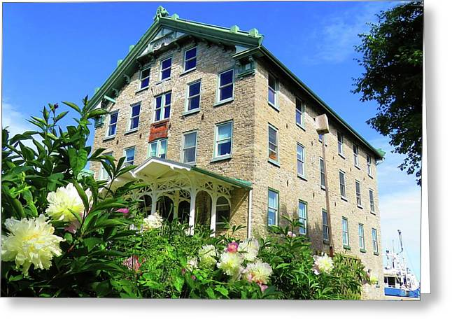 Dec Building Cape Vincent Ny Greeting Card