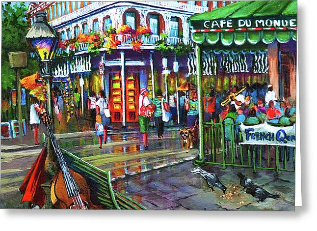 Decatur Street Greeting Card