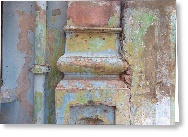 Greeting Card featuring the photograph Decay by Jean luc Comperat