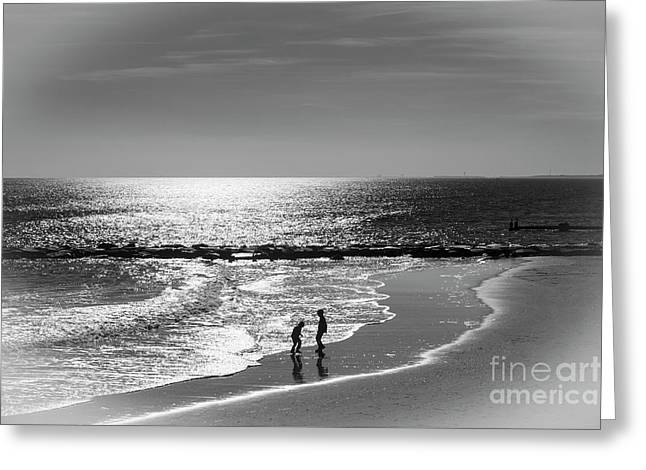 December At The Jersey Shore Greeting Card