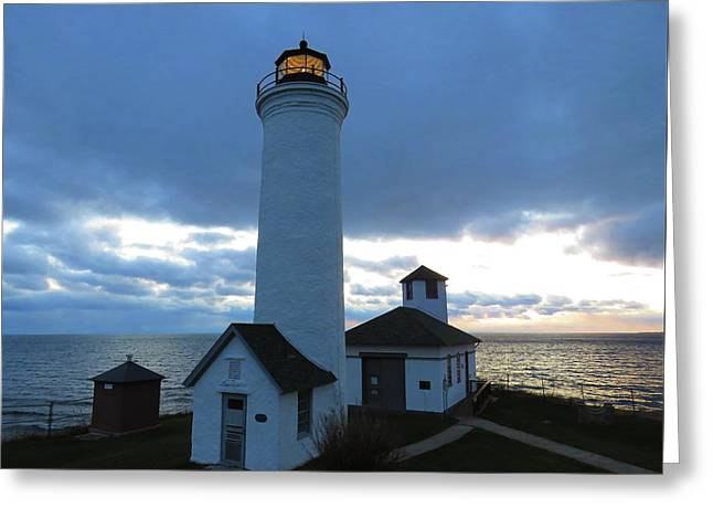 December Light, Tibbetts Point  Greeting Card