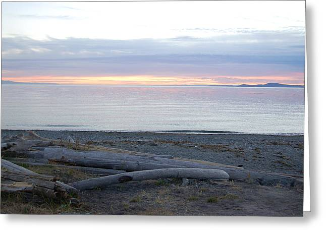 Deception Pass State Park Greeting Card by Robert Ashbaugh