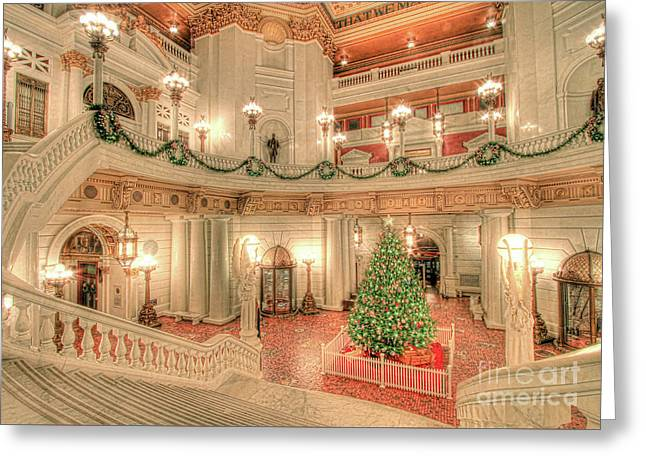 Deck The Hall Greeting Card