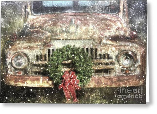 Decked Out For Christmas Greeting Card by Benanne Stiens