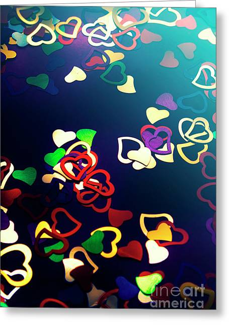 Decorations In Romance Greeting Card