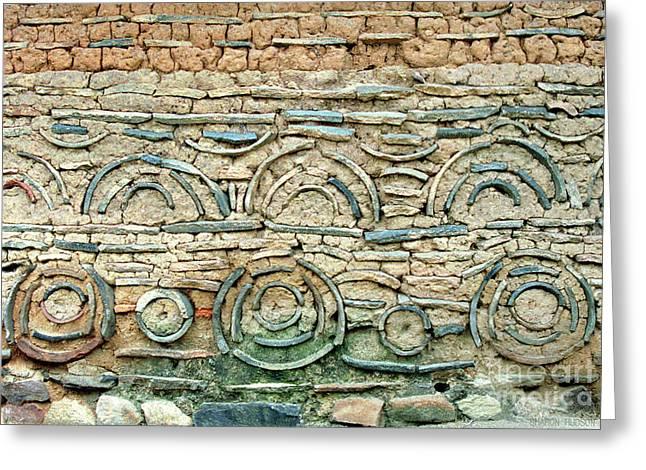 decorative architecture photographs - Korean Wall Greeting Card