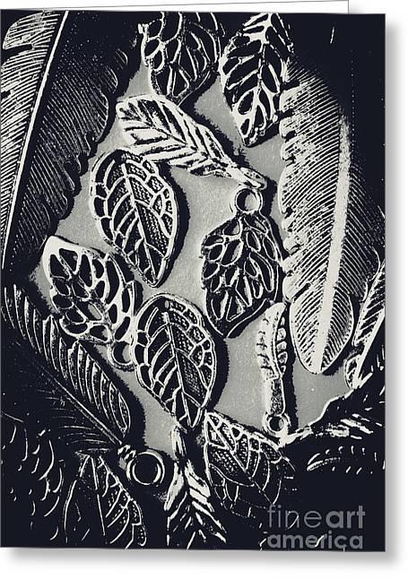Decorative Nature Design  Greeting Card