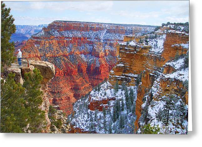 Greeting Card featuring the photograph Deep And Wide by Roberta Byram