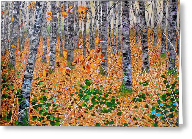 Deep In The Woods- Large Work Greeting Card