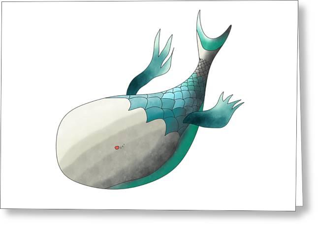 Deep Sea Fish Greeting Card
