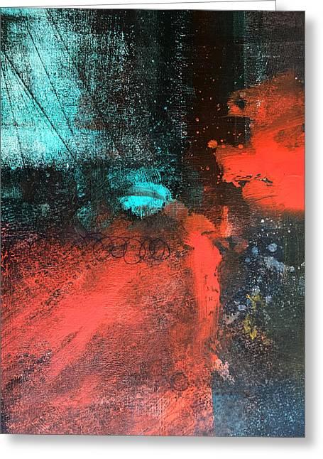Deep Space Greeting Card by Nancy Merkle