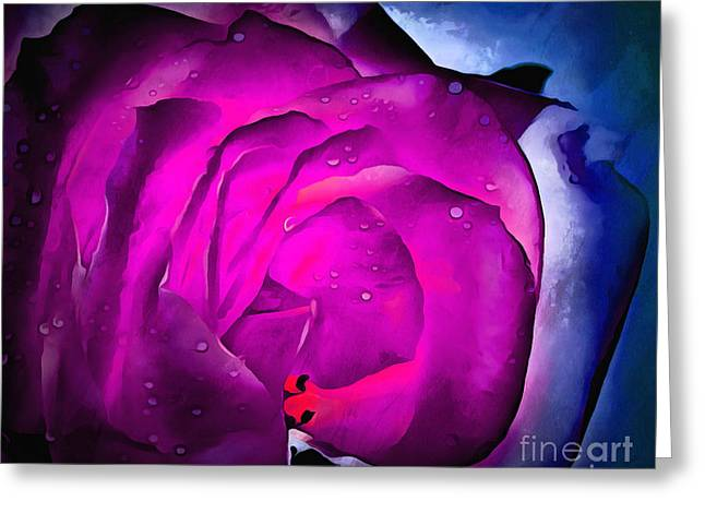 Deep Within Your Heart Greeting Card by Krissy Katsimbras