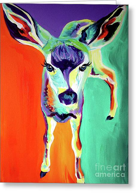 Deer - Fawn Greeting Card