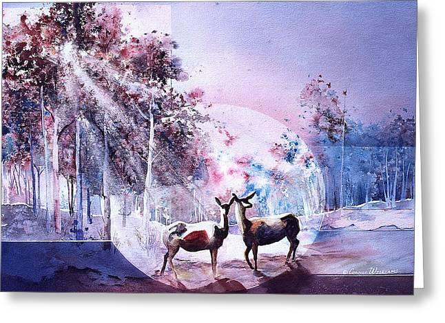 Deer Enchantment Greeting Card