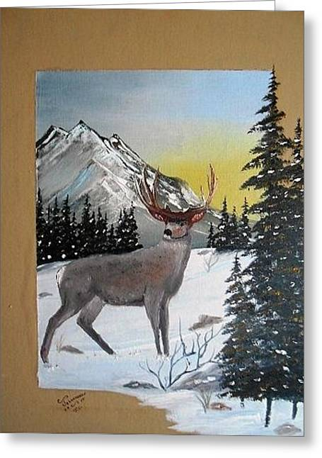 Deer Hunter's Dream Greeting Card