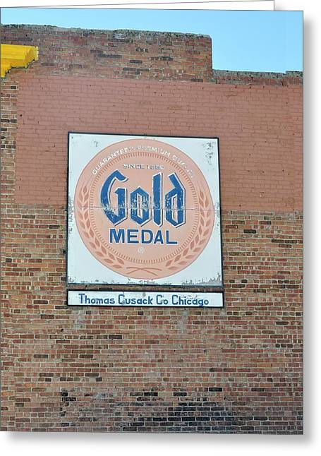 Deer Lodge Montana - Gold Medal Greeting Card