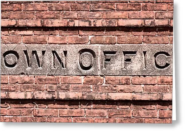 Deerfield Town Office Greeting Card