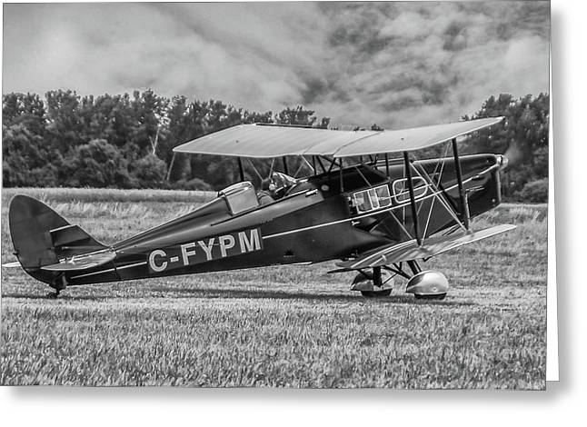 Dehavilland Dh--83 Greeting Card by Guy Whiteley