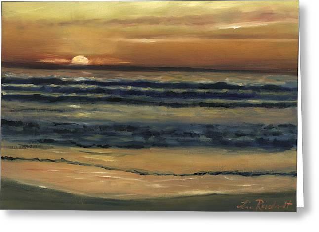 Del Mar Sunset Greeting Card
