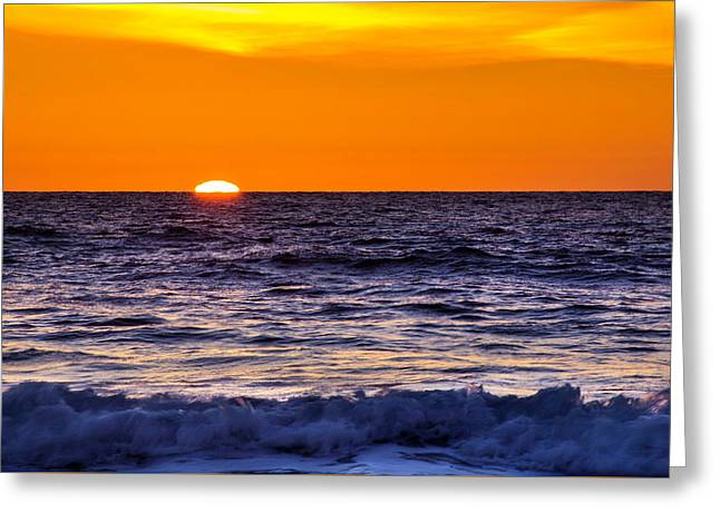 Del Mar Sunset, View 2 Greeting Card
