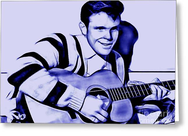 Del Shannon Collection Greeting Card